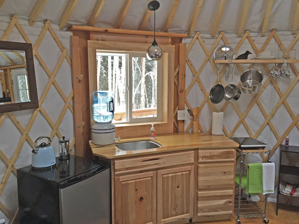Fairbanks-Yurt-Rental