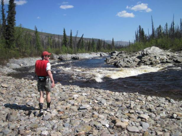 Scouting river features