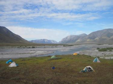 Camping in the Arctic National Wildlife Refuge