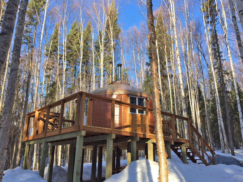 Fairbanks Yurt Rental - Accommodations near Chena Hot Springs