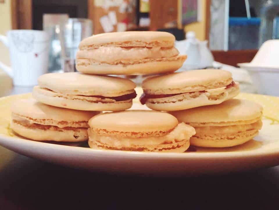 macarons x4