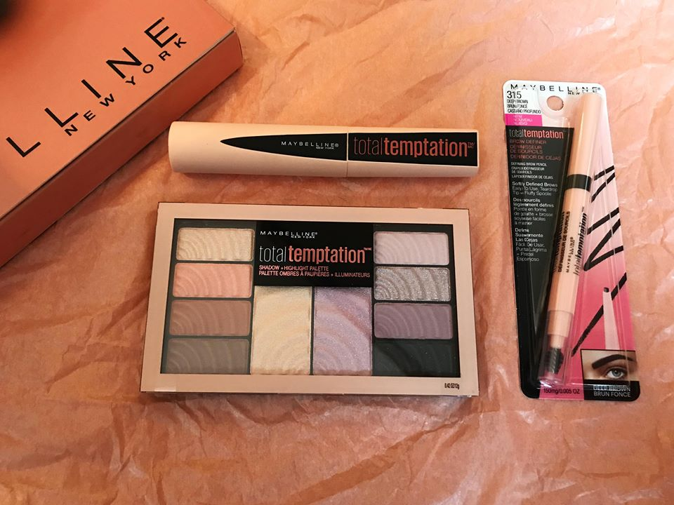 Maybelline total temptations collection