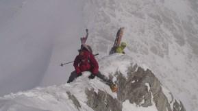 Hasler summit ridge