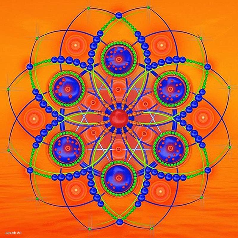 Geometria Sagrada Arcturiana Despertar   Janorsh Art