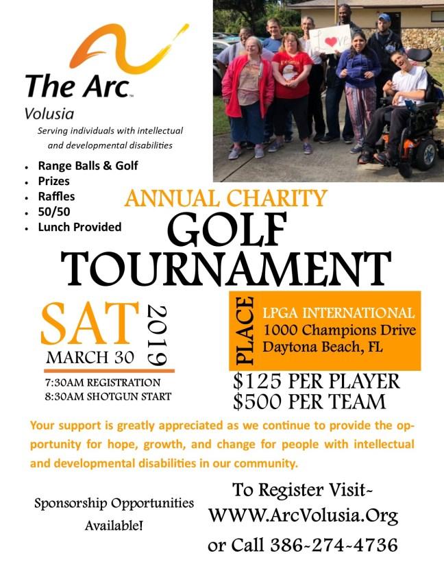 Golf Tournament Flyer 2019