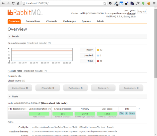 rabbitmq-web-admin