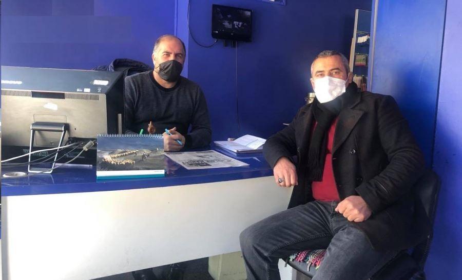 Çıldır Muhtarlar Derneği Başkanı Uzunkaya'dan işten çıkarılan işçilere destek