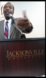 Ardain speaks at JU