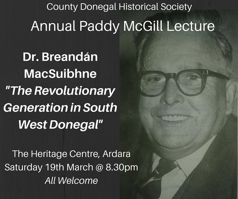 Revolution in the air as Paddy McGill Annual Lecture Returns