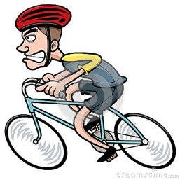 cartoon-cyclist-vector-illustration-37069887