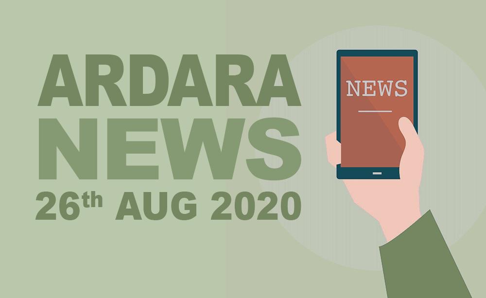 Ardara News 26th August 2020