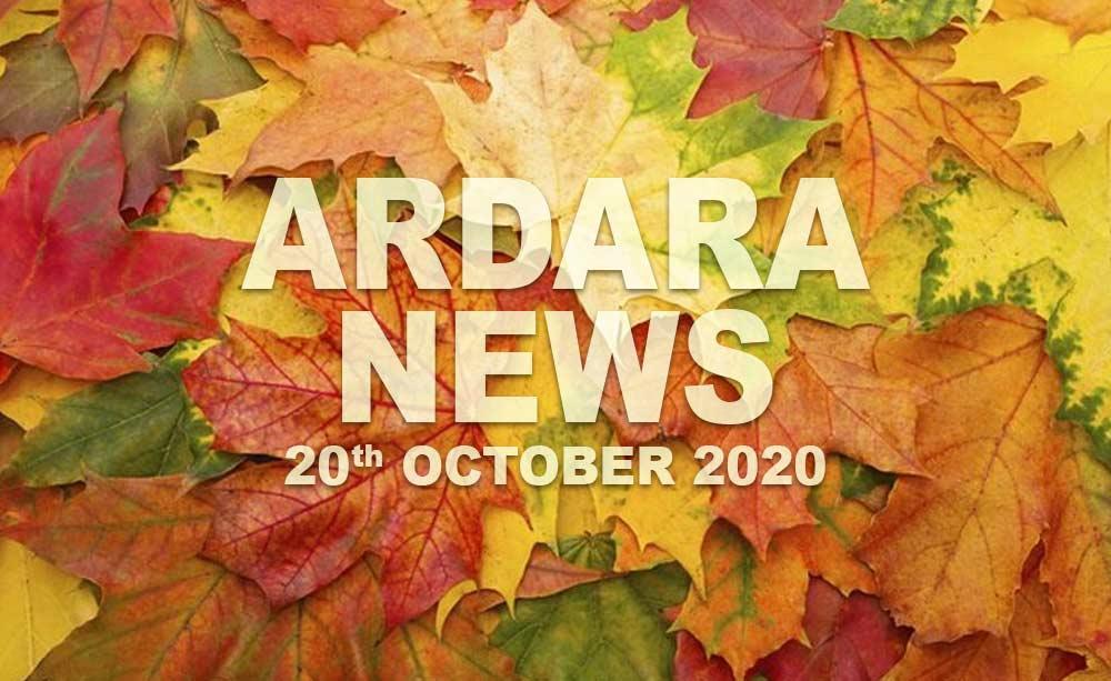 Ardara News 20th October 2020