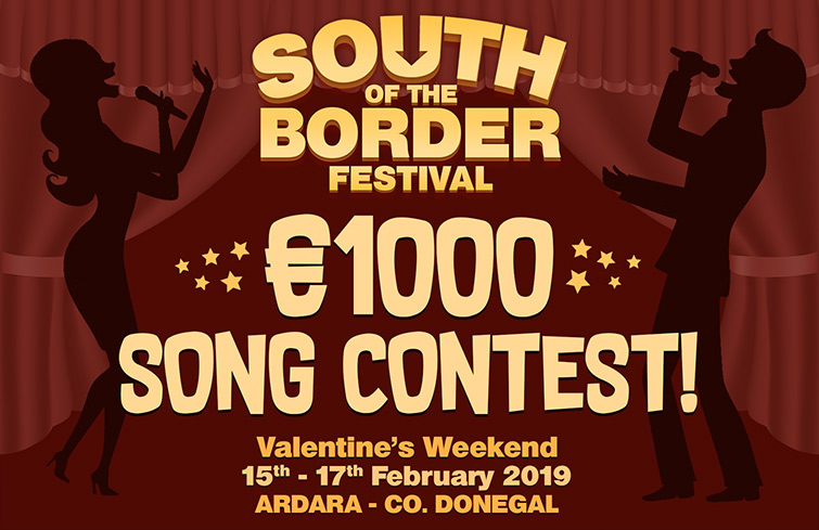 South of the Border Festival - €1000 Song Contest
