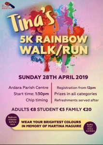 Tina's 5k Rainbow walk/run