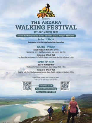 Ardara Walking Festival 2020 poster