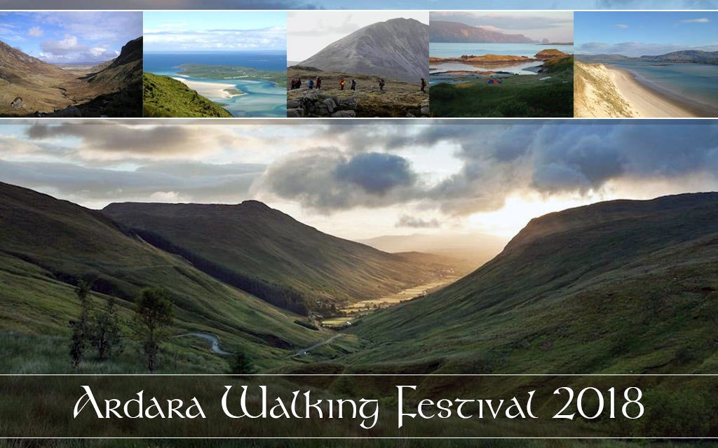Ardara Walking Weekend: 16th – 18th March 2018