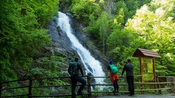 Cascada Lotrisor Muntele Naratu