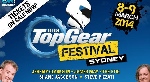Ricciardo returns home for Top Gear Festival Sydney
