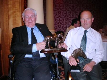 Award winners Eamon Hannan and Philip McManus