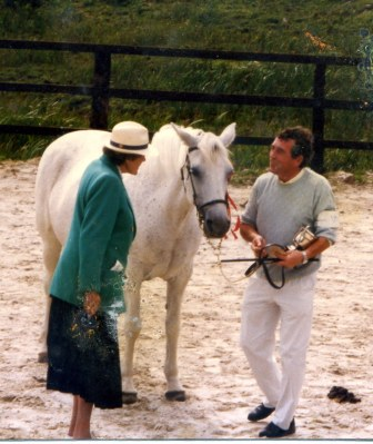 Winning Class at Cashel Show with the late Val Moran