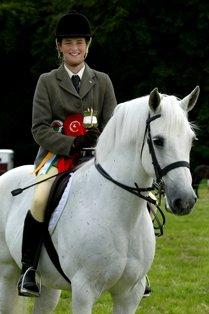 Galway Performance Champ. Tulira Katie Daly; rider Elaine Creaven