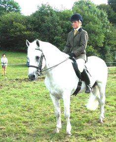 Gleann Rua Maxwell, Reserve Champ.Ridden Stallion with Lorna Murphy