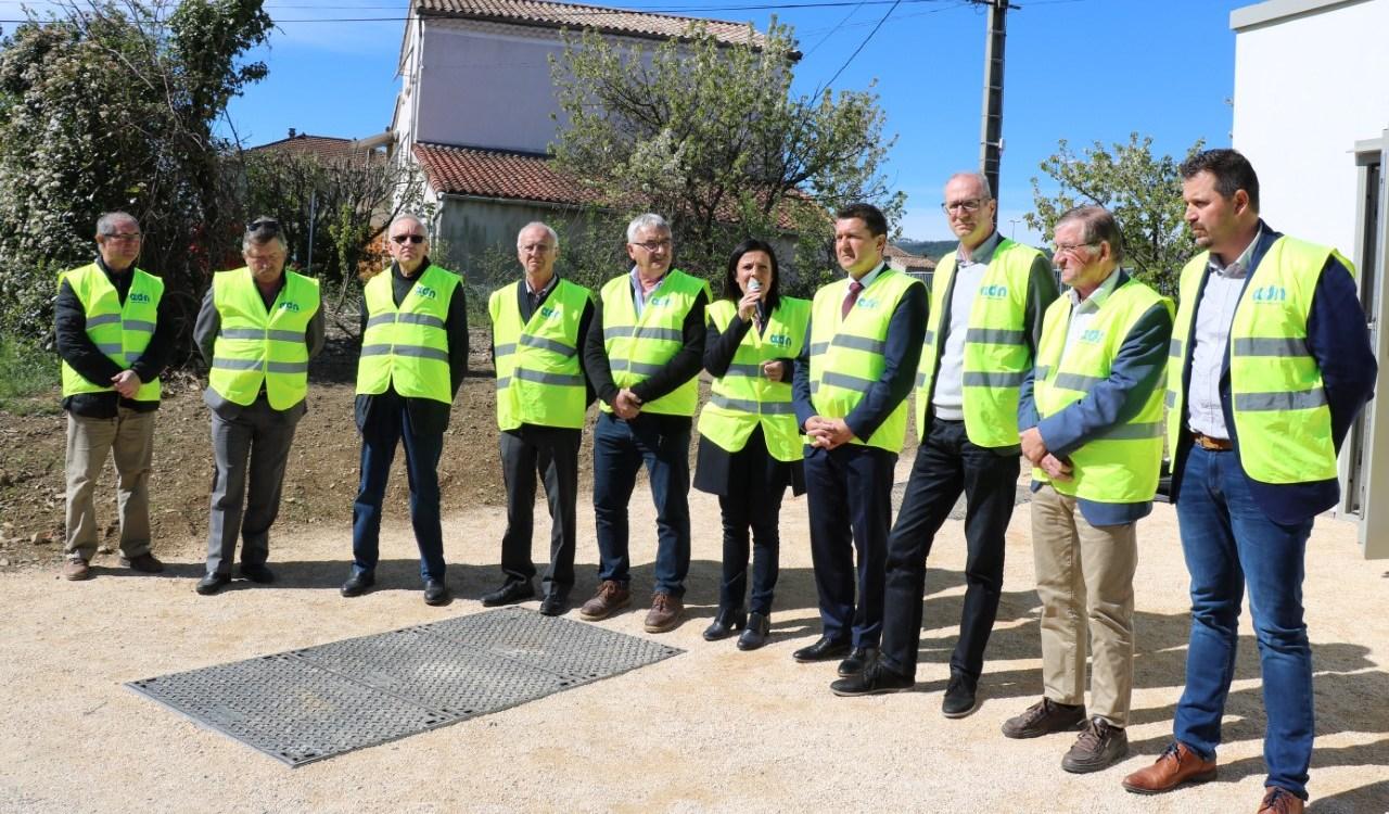 Réception technique des premières prises FTTH en Ardèche