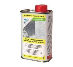 olie vlekken verwijderen uit natuursteen