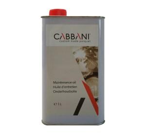 cabbani onderhoudsolie huile d'entretien