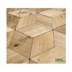 eik_kubus_3D_verouderd_chene_veilli_fumé_hexagon_detail_zwart_wit
