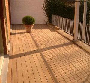 onderhoud houten terras