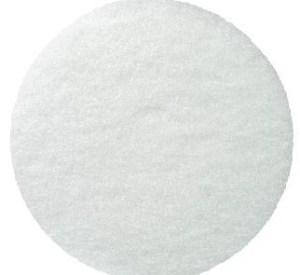 witte pad woodboy boenmachine voor olie te plaatsen