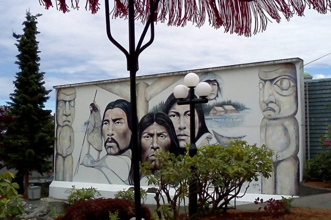 Chemainus wall mural