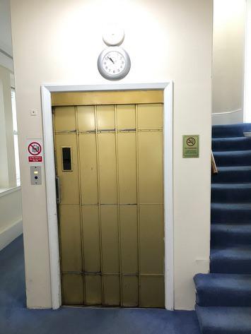 Landing doors before
