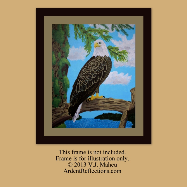 Eagle Artwork, Original Eagle Art, Bald Eagle Art, National Symbol, Independence Day, original bald eagle, Painting Eagle, Item # FPO1 eagle gift item, eagle gift, endangered species, eagle painting, American Eagle, American Pride,
