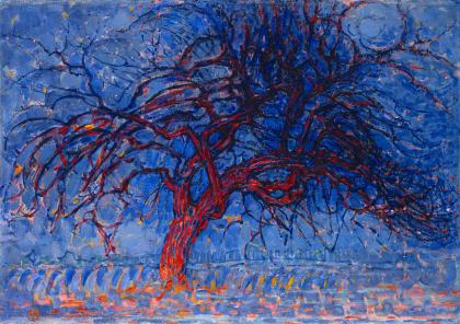 Piet Mondrian, Red Tree