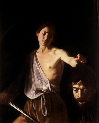 Caravaggio's David with the Head of Goliath