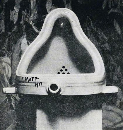 Marcel Duchamp's Fountaine