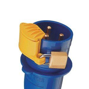 Blook bloqueador de enchufe trifásico amarillo 16-125 amper – Cod ELE-1042