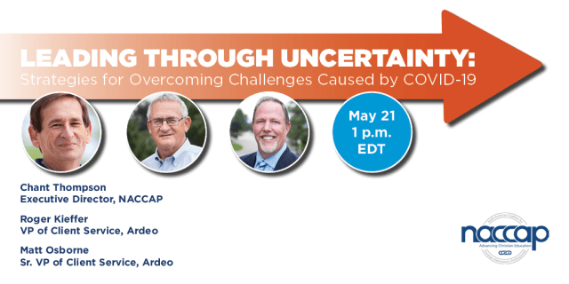 RSVP for May 21 NACCAP and Ardeo Webinar