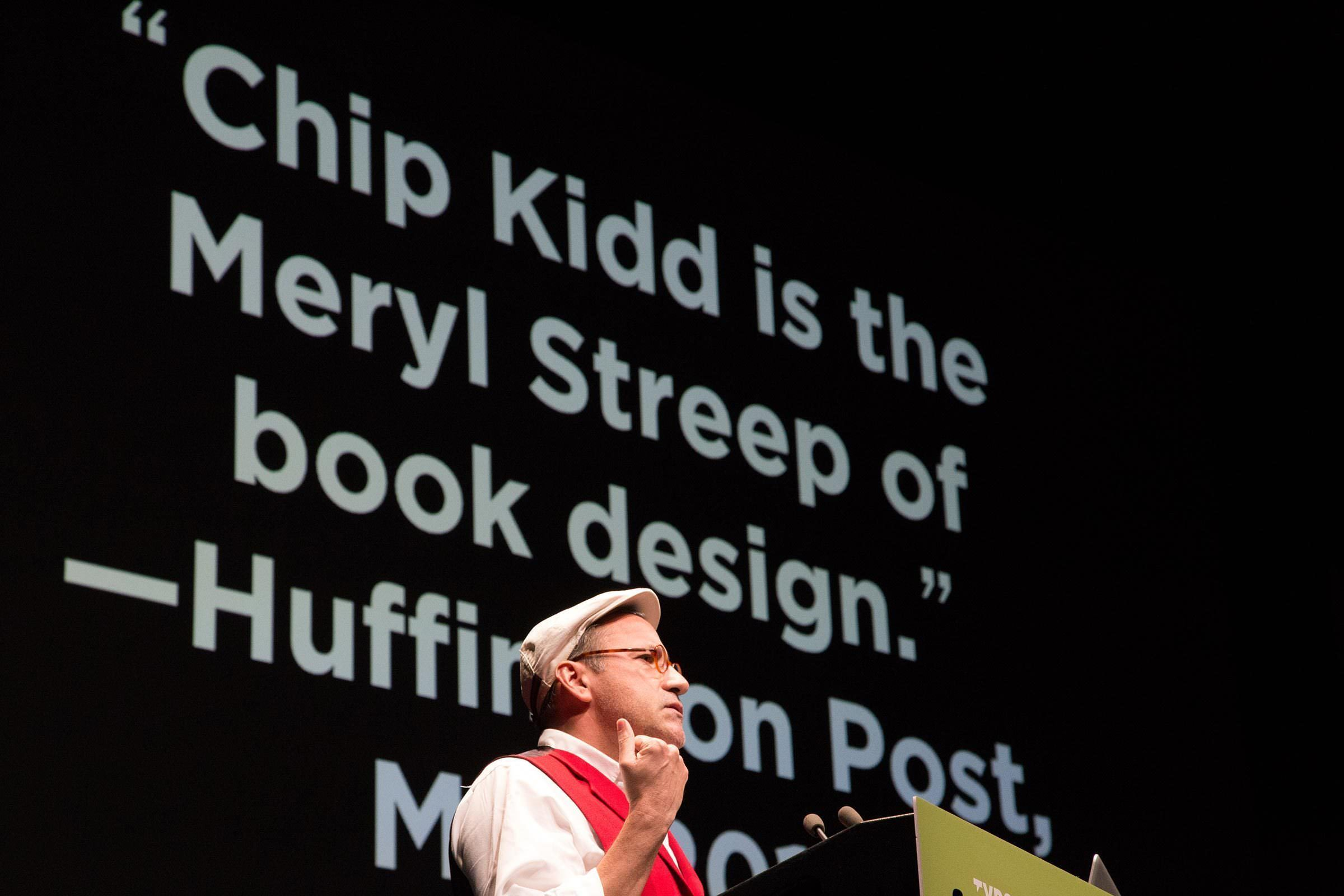 Chip Kidd Meryl Streep of Book Design