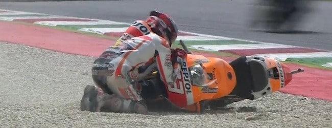 Marquez crash