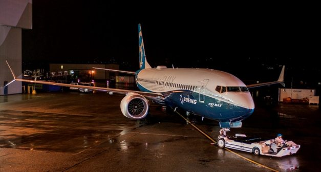Boeing 737 Max first Filght