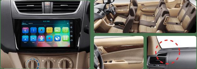 New Suzuki Ertiga Dreza interior