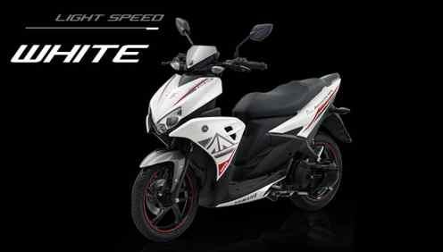 Yamaha Aerox 125 putih
