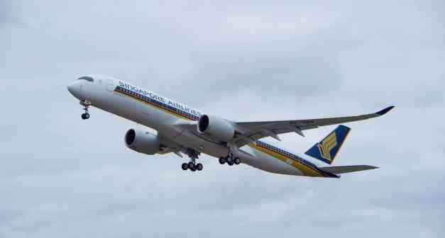 Airbus A350-941 XWB Singapore Airlines...