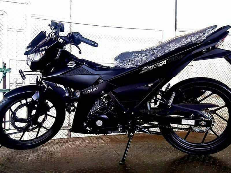 Suzuki Satria FU Black Predator