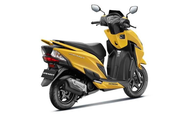 honda grazia 125 yellow