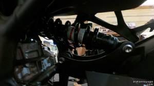 rear suspension ninja