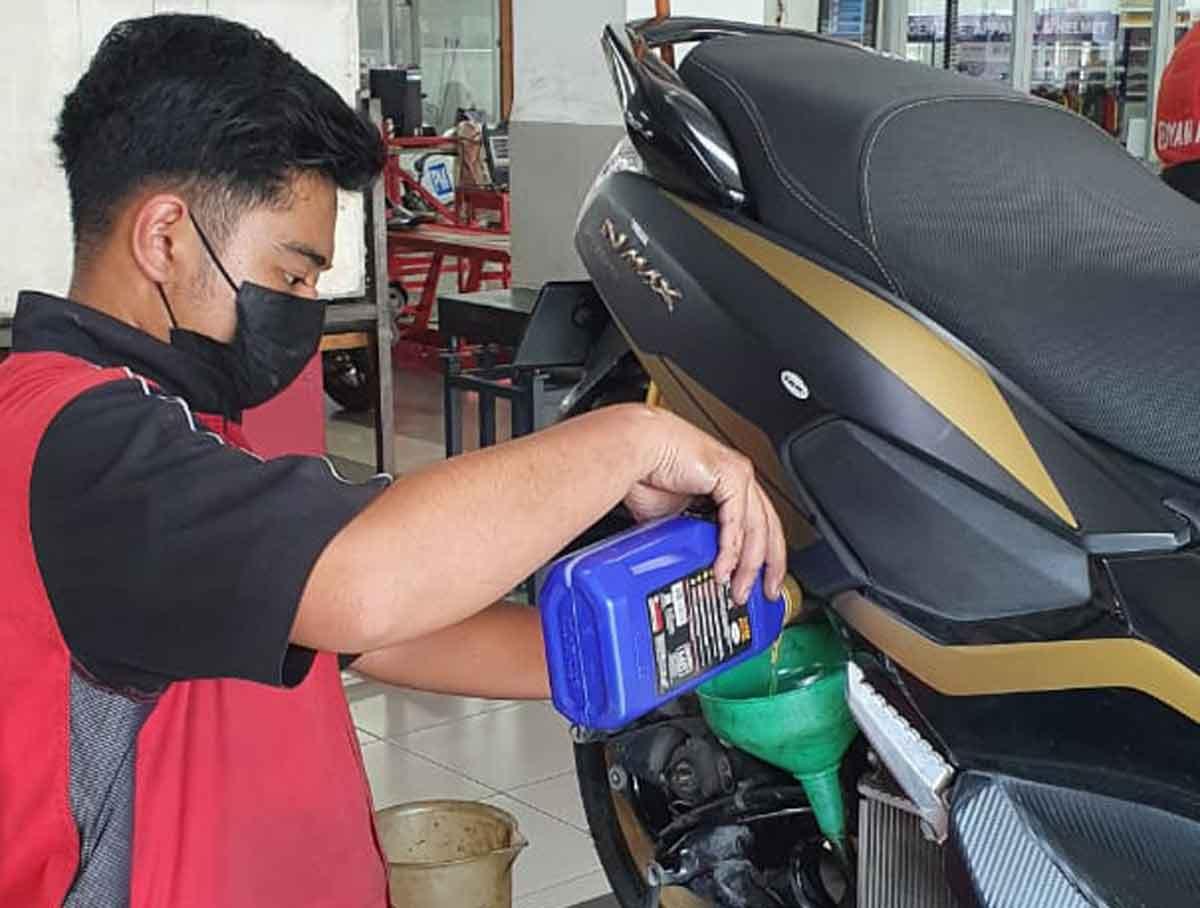 tips rawat motor yamaha